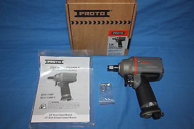 """Proto J150WP-C 1/2"""" Drive Compact Air Impact Wrench ~Make Offer~ *Free Shipping*"""