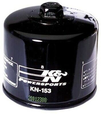 Performance Gold Oil Filter K N Engineering KN-153 Synthetic Spin-On KN-153