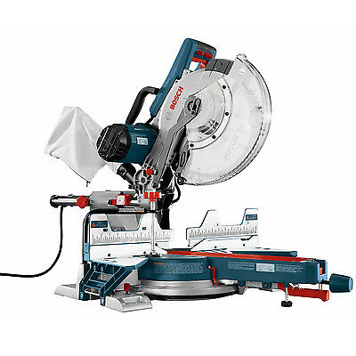 "12"" Dual Bevel Compound Miter Saw Bosch Tools CM12SD New"