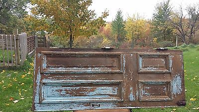 "ANTIQUE  DOOR ~ 32"" x 82"" ~ ARCHITECTURAL SALVAGE ~ AWESOME HARDWARE ATTACHED"