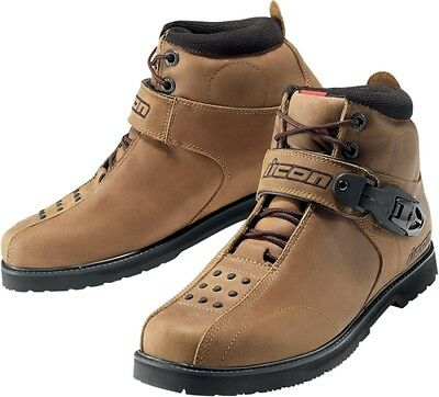 Icon Brown Superduty 4 Boots 8.5 3403-0223 3403-0223