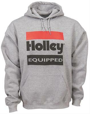 Holley Equipped Logo Hooded Sweatshirt 10023-LGHOL
