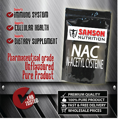 N-ACETYL L-CYSTEINE (NAC) POWDER 500g PHARMACEUTICAL GRADE QUALITY-WITH TRACKING