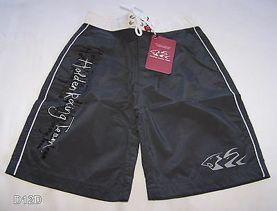 Holden Racing Team HRT Grey Boys Printed Swimming Board Shorts Size 12 New
