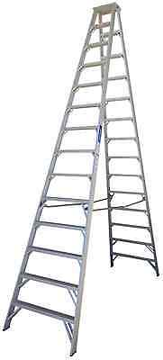 New Indalex Pro Series Aluminium Double Sided Step 14Ft (4.3M)