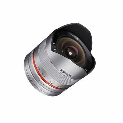 Samyang 8mm f/2.8 UMC Fish-eye II for Sony Nex E Silver Stock in EU Authenti