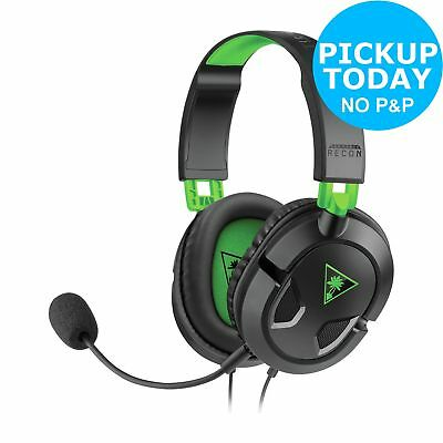 Turtle Beach Recon 50X Wired Gaming Headset for Xbox One - Black :From Argos