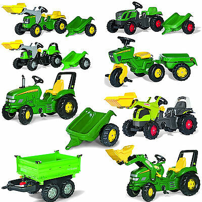 Kids Tractor John Deere Pedal car Accessories Rolly Toys select 1 piece from