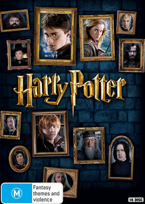 Harry Potter 8 Complete Film Collection Box Set DVD R4 New!!!