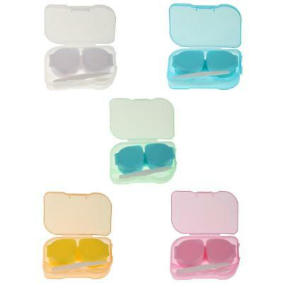 Portable Mini Pocket Size Contact Lens Travel Case Storage Holder Container