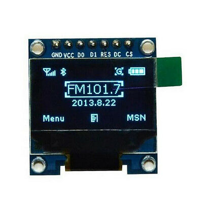 "Blue OLED LCD LED Display Module for Arduino 0.96"" I2C IIC SPI Serial 128X64 #ZZ"