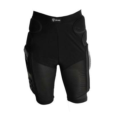 Motorcycle Bike Bicycle Padded Hip Protector Body Armour Cycle Shorts Black