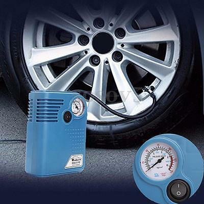 Electric Air Compressor Portable Pump 300 PSI 12V Auto Car Motorcycle SUV Tire