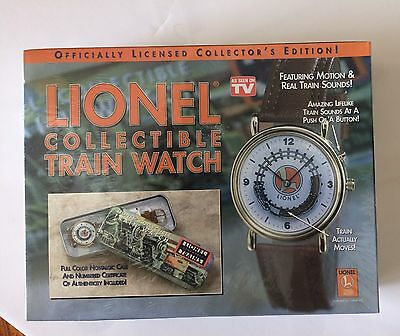 Lionel Collectible Train Watch New Sealed