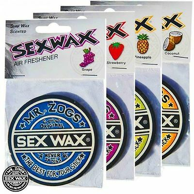 Mr Zogs Sex Wax Air Freshener All Scents Available.