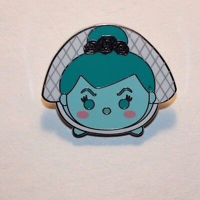Disney Parks Pin Booster Tsum Tsum Haunted Mansion Ghost Bride Pin