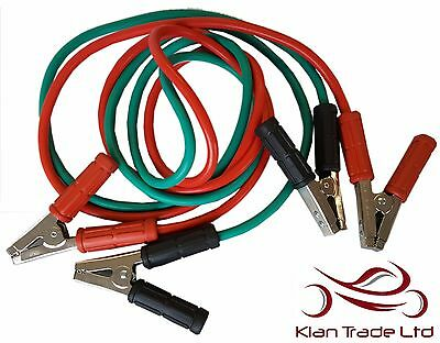 1000Amp Car Van Truck Jumper Cables Leads Jump Start Booster Recovery Starter