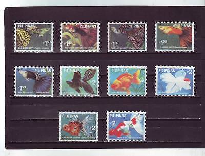 a99 - PHILIPPINES - SG2414-2423 MNH 1992  FRESHWATER AQUARIUM FISH - 1st SERIES