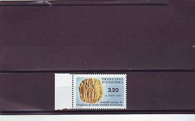 Andorra(French) - Sgf436 Mnh 1990 Gold Coin
