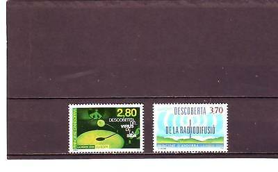Andorra(French) - Sgf484-F485 Mnh 1994  Europa - Discoveries & Inventions