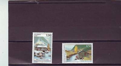 Andorra(French) - Sgf527-F528 Mnh 1997 Tourism Paintings