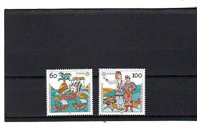 GERMANY - SG2456-2457 MNH 1992 EUROPA 500th ANNIV DISCOVER OF AMERICA