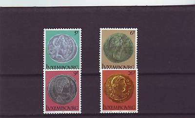 Luxembourg - Sg1018-1021 Mnh 1979 Roman Coins Is State Museum