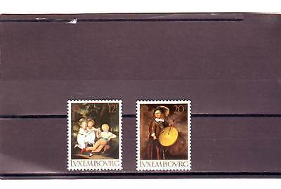 Luxembourg - Sg1250-1251 Mnh 1989 Europa - Childrens Games & Toys