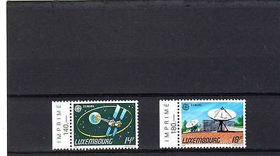 Luxembourg - Sg1296-1297 Mnh 1991 Europa - Europe In Space