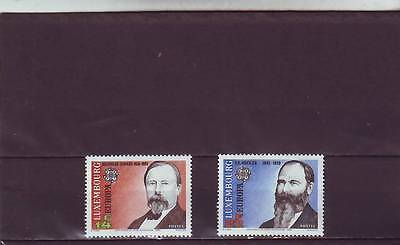 LUXEMBOURG - SG1317-1318 MNH 1992 EUROPA - 500th ANNIV DISCOVERY AMERICA