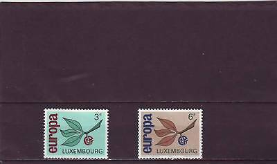 Luxembourg - Sg769-770 Mnh 1965 Europa - Sprig