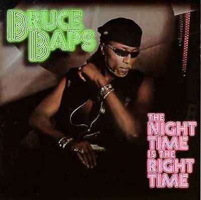 New: Baps, Bruce: Night Time Is Right Time Single Audio CD