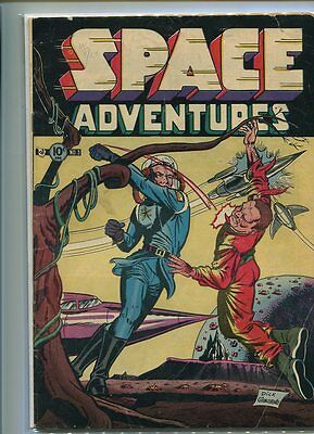 Space Adventures #3 Solid Grade Great Giordano Battle Cover