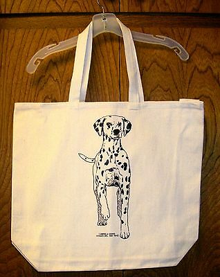 DALMATION / Coming&Going 100% Cotton Canvas XL Tote Bag