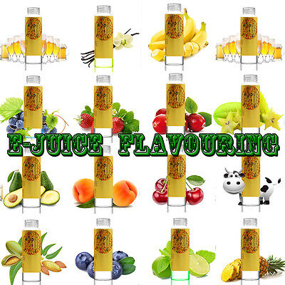 """""""E"""" DIY """"Juice"""" flavors - Food Grade Concentrate - Over 110 Kind of Flavoring &"""