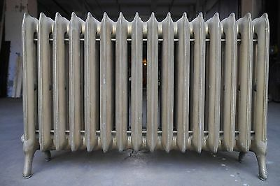 Antique Vintage National Radiator Co. Hot Water or Steam Radiator 16-Fin (SA1)