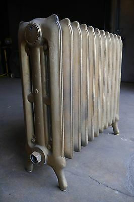 Antique Vintage National Radiator Co. Hot Water or Steam Radiator 11-Fin (SA4)