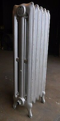 Antique Vintage National Radiator Co. Hot Water or Steam Radiator 5-Fin (SA5)