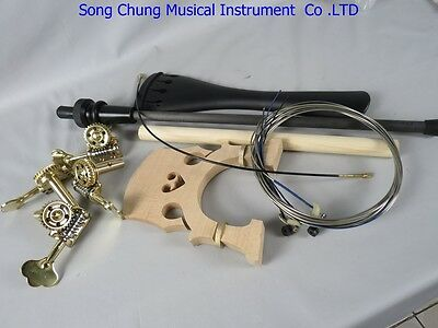 3/4 Upright Bass part,bridge/tailpiece/Germany style pegs/endpin etc.