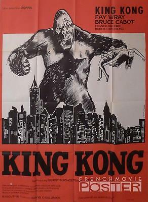 King Kong - Wray / Cabot - New York / Buildings - Reissue Large Movie Poster