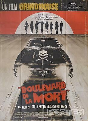 Death Proof - Grindhouse - Tarantino / Car / Russell - Original Movie Poster