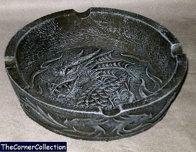 Celtic Dragon Ashtray Valet Catchall Incense Burner Candleholder