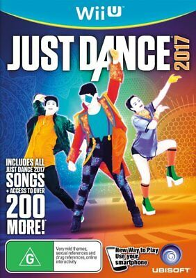 Just Dance 2017 Wii U (PAL) Brand New!