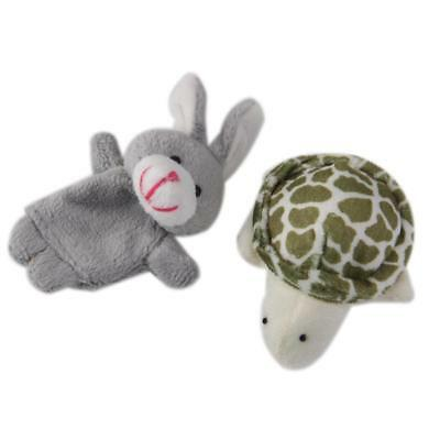 Hare & Tortoise Race Finger Puppets TOYS BOYS GIRLS Kids PARTY BAG FILLER