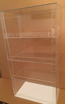 """Acrylic Display Case 12"""" x 7""""x 20.5"""" tall  Convenience Store Counter Top Display"""