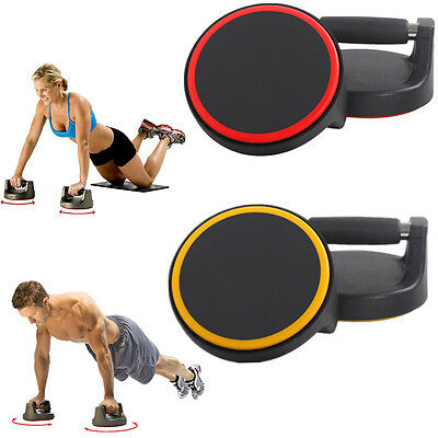 Gym  Exercise Push-Up Bars Circles Stand Pull Press Chess Handles Arms Rotating