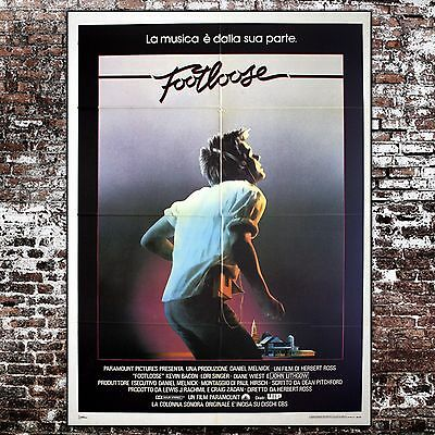 Original Movie Poster Footloose - Size: 100x140 CM - Kevin Bacon