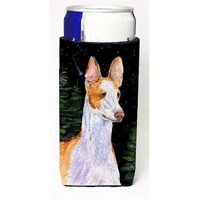 Starry Night Ibizan Hound Michelob Ultra bottle sleeves For Slim Cans 12 oz.