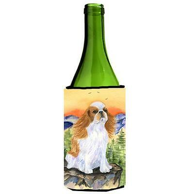 Carolines Treasures English Toy Spaniel Wine bottle sleeve Hugger 24 oz.
