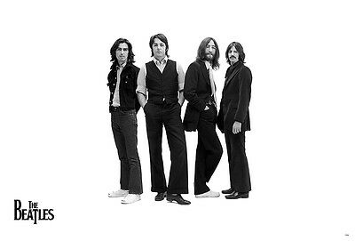 THE BEATLES POSTER 24x36 INCH MUSIC ROCK POP CONCERT NEW 1 SIDE SHEET WALL PM201